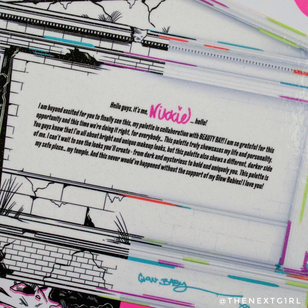Beautybay oogschaduwpalette achterkant bericht NikkieTutorials