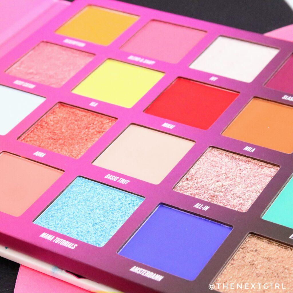 NikkieTutorials x Beauty bay pressed pigment palette