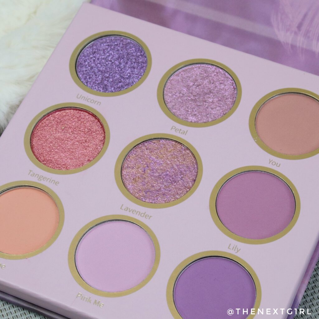Close-up Rhapsody eyeshadow palette SHEIN