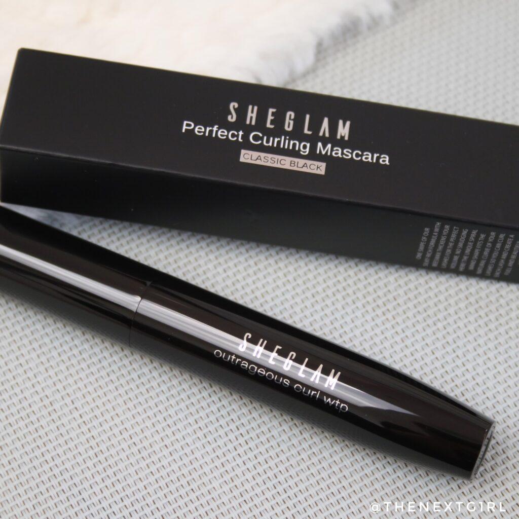 SHEGLAM mascara voor krullende wimpers