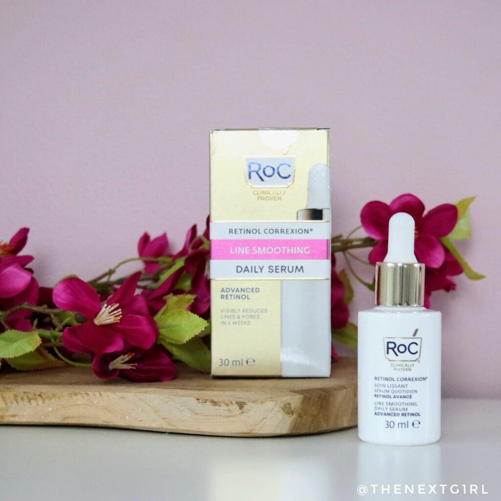 ROC Retinol Correxion daily serum verpakking flesje