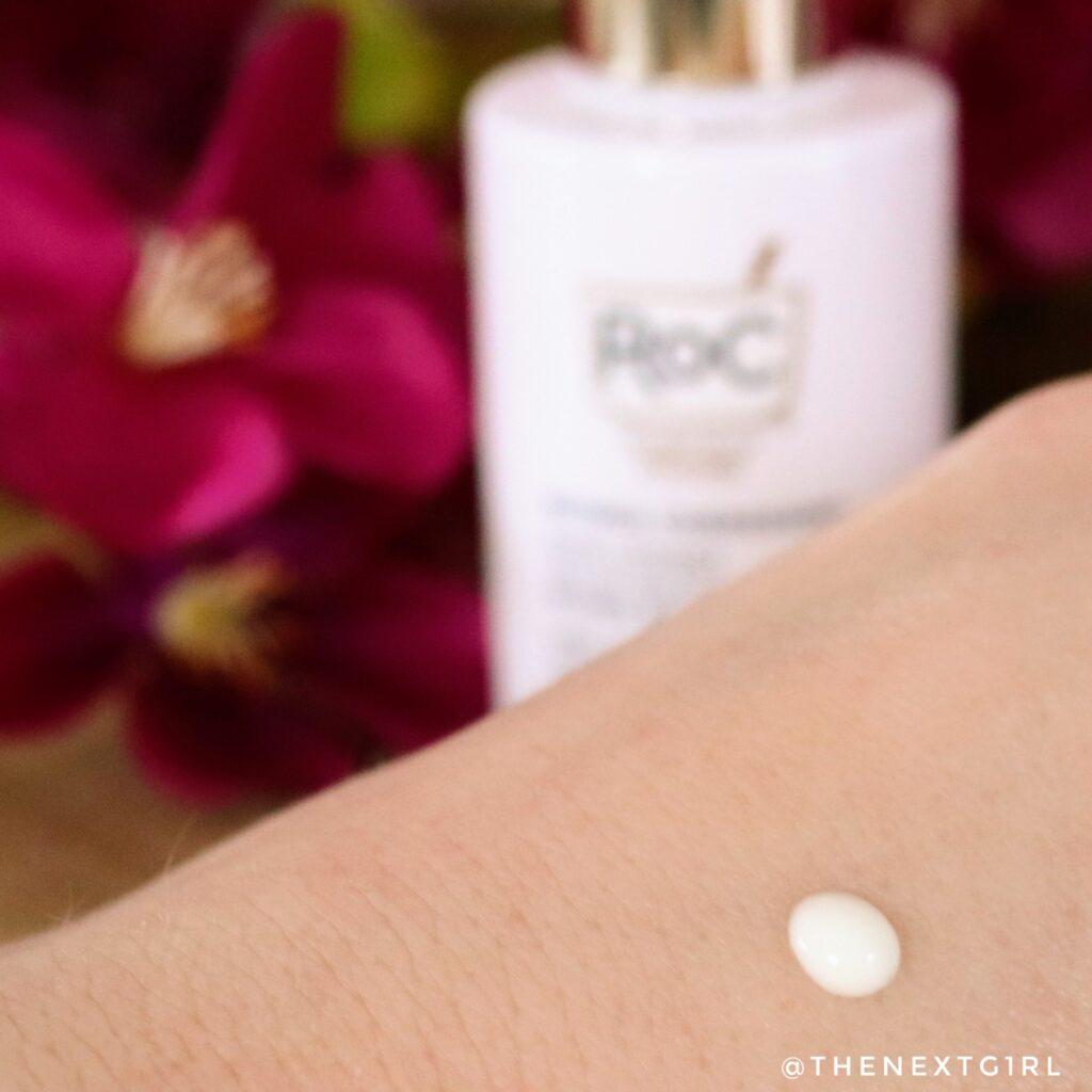 Swatch textuur ROC Retinol serum