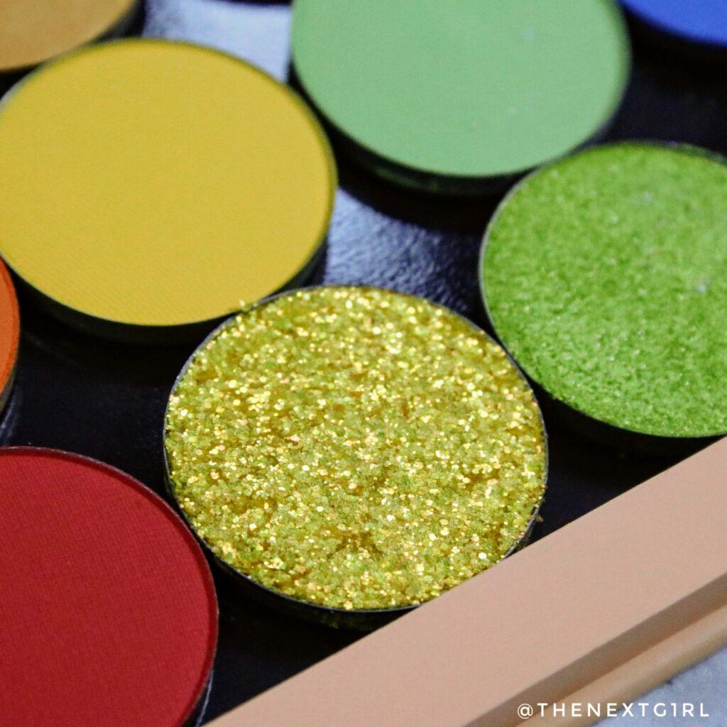 Glitter oogschaduw van Colourpop Cosmetics