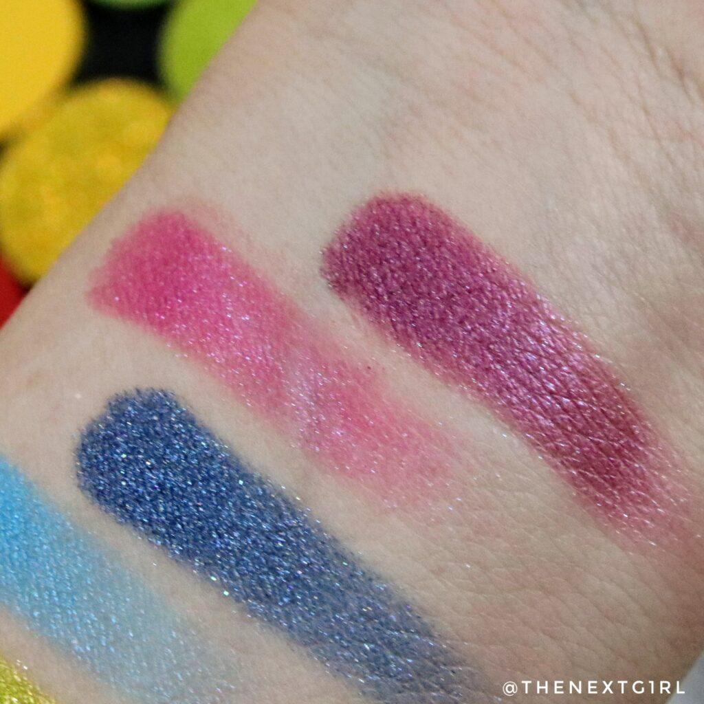 Close-up shimmertinten paars blauw CP