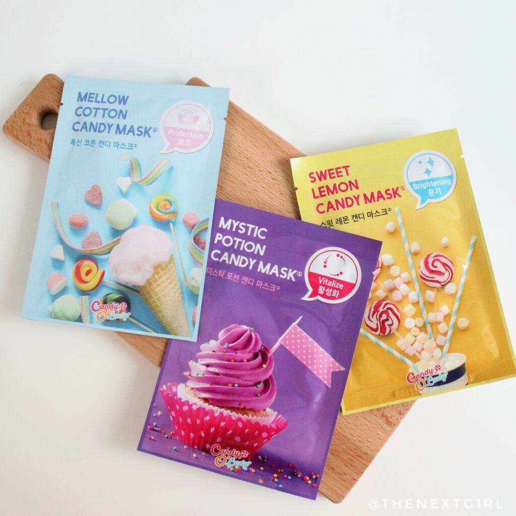 Sheetmasks Little Wonderland Candy O'Lady snoepjes