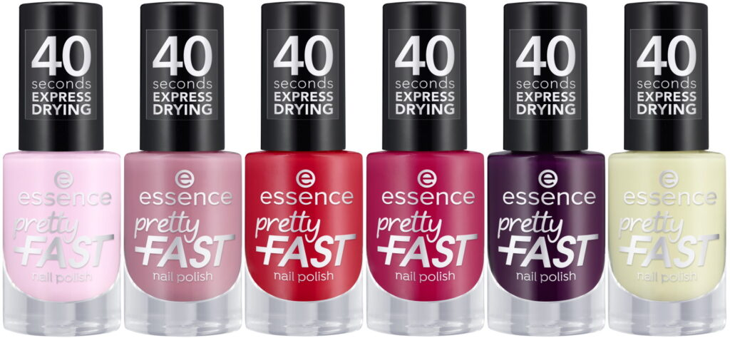 Pretty fast essence nagellak sneldrogend 2021