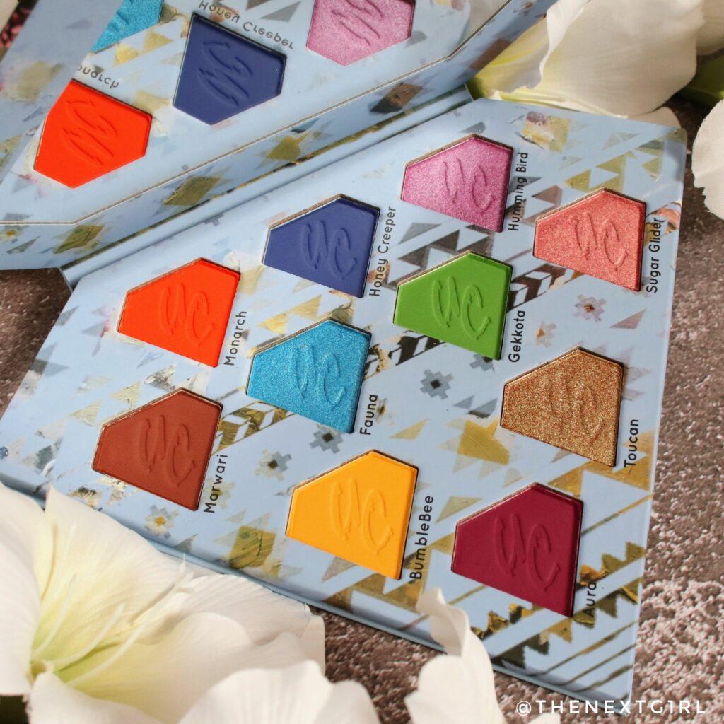 Unicorn Totemic kleurrijk palette