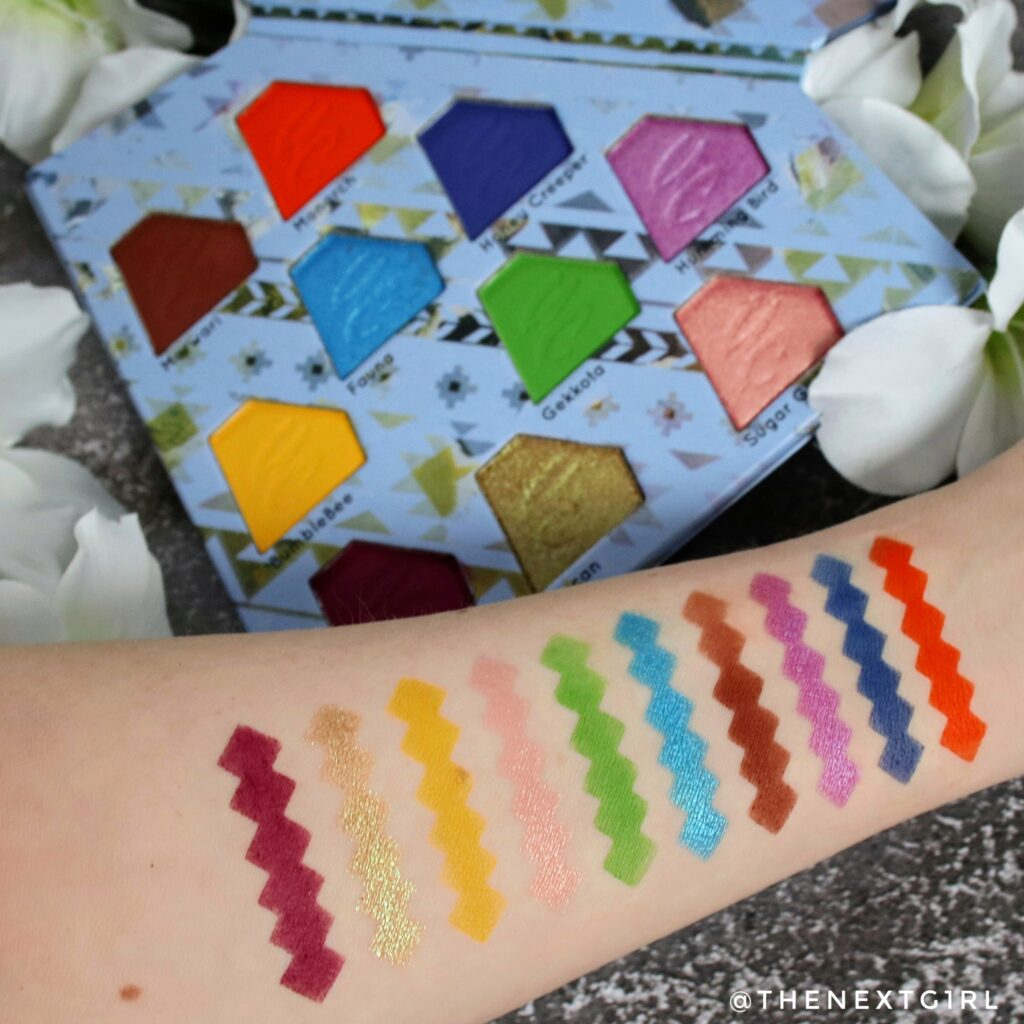 Swatches Unicorn Totemic palette