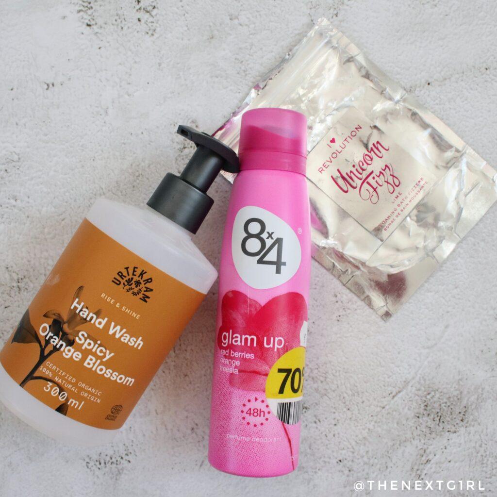 Opgemaakt deodorant urtekram handzeep bath fizzers