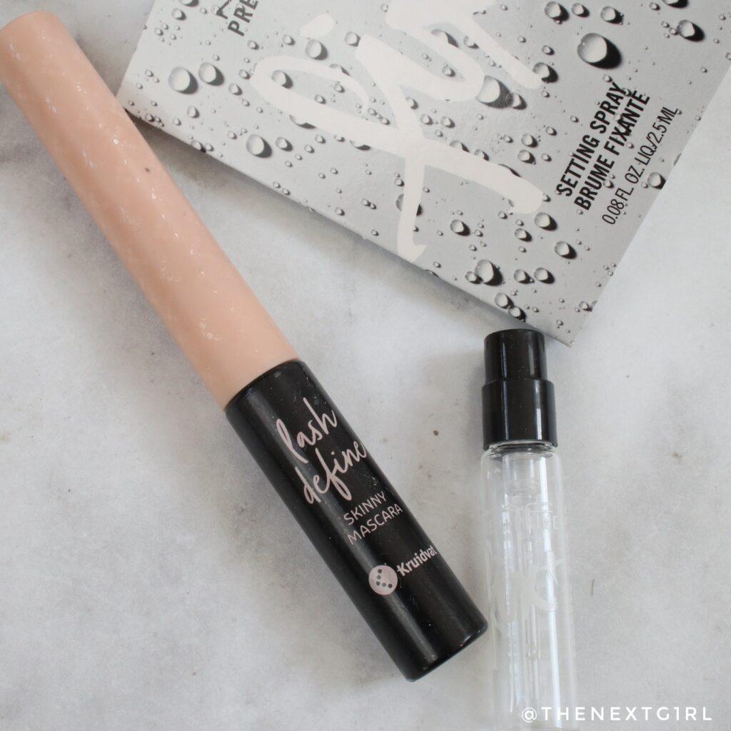 Opgemaakte make-up skinny mascara Kruidvat Fix+