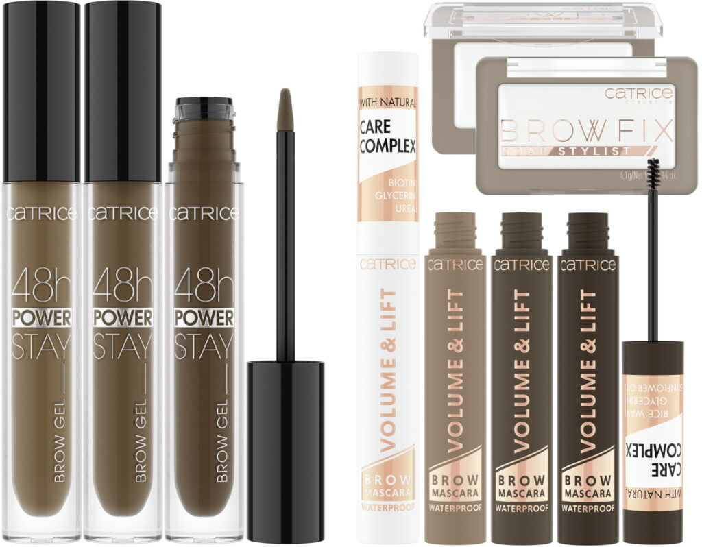 Catrice 2021 brow gel browmascara soap