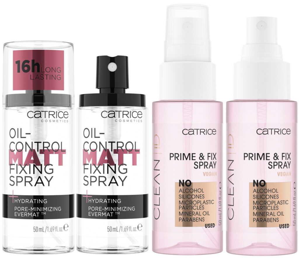 Catrice OIL-control Matt prime fixing spray