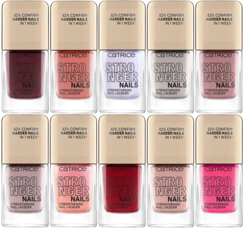 Catrice Stronger Nails tien kleuren nagellak 2021