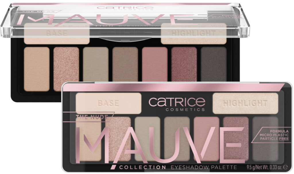 Catrice The Nude Mauve Collection palette
