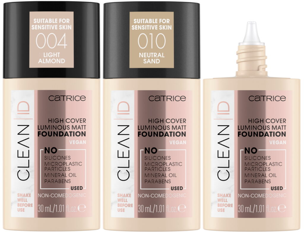 Clean ID foundation high cover luminous matt vegan 2021