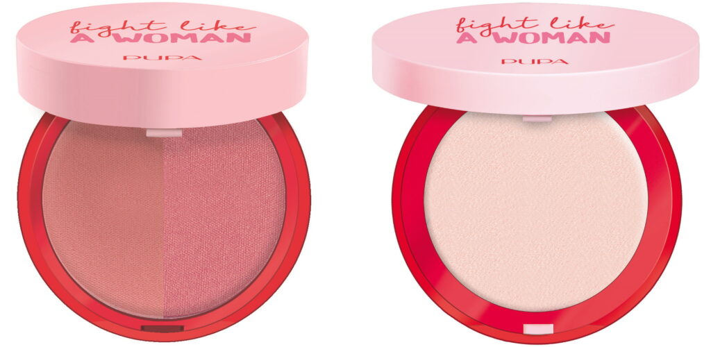 Fight Like A Woman blush en highlighter