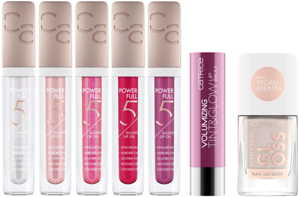 Nieuwe Catrice Power full 5 glossy lip oils 2021