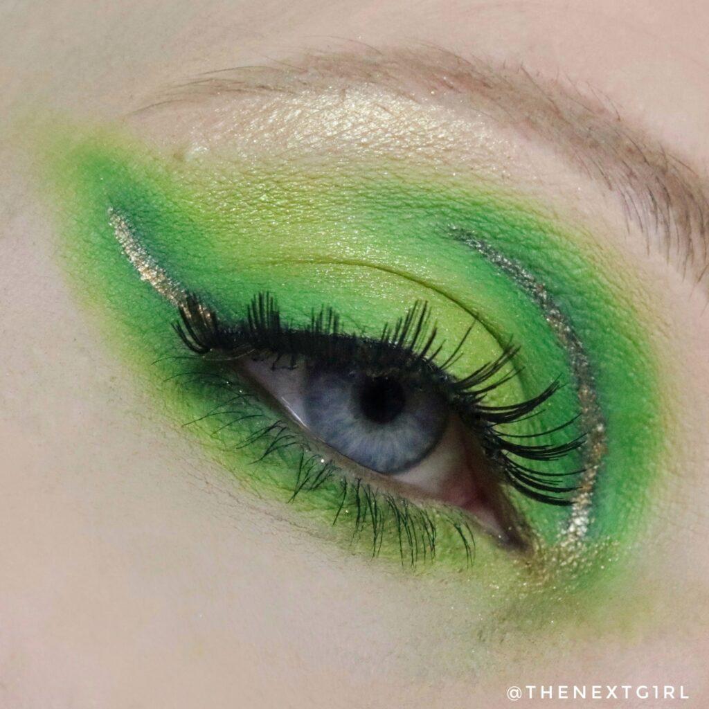 Groene ooglook BPerfect Carnival