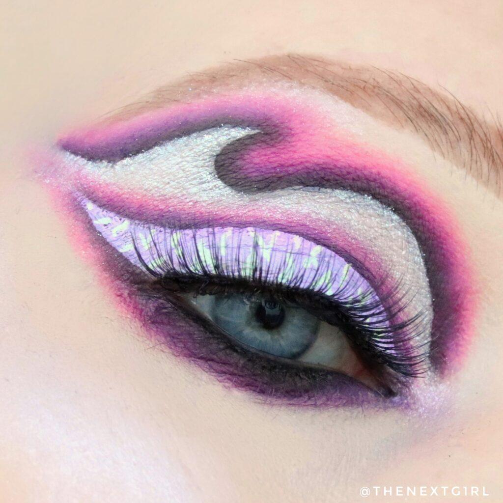 Zwart roze look met Carnival III Love Tahiti