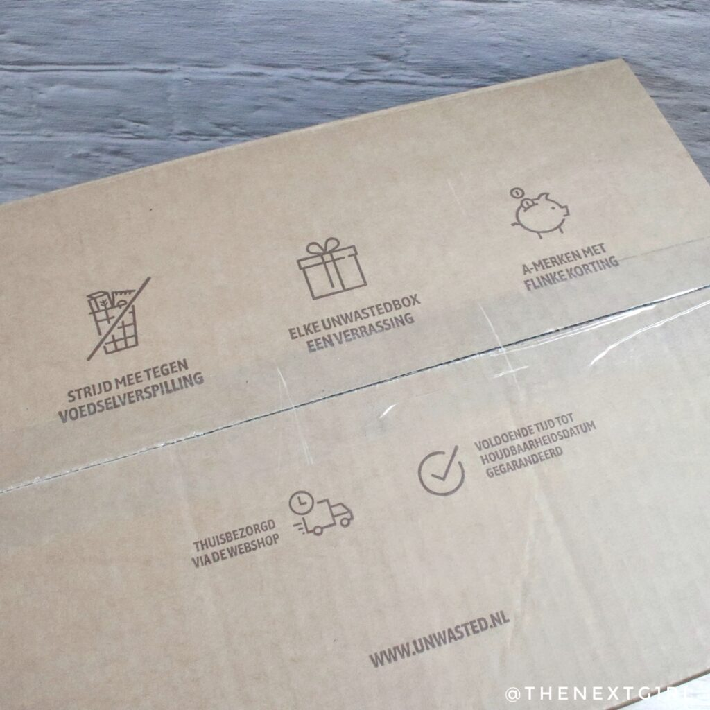 Unwasted voordelen doos