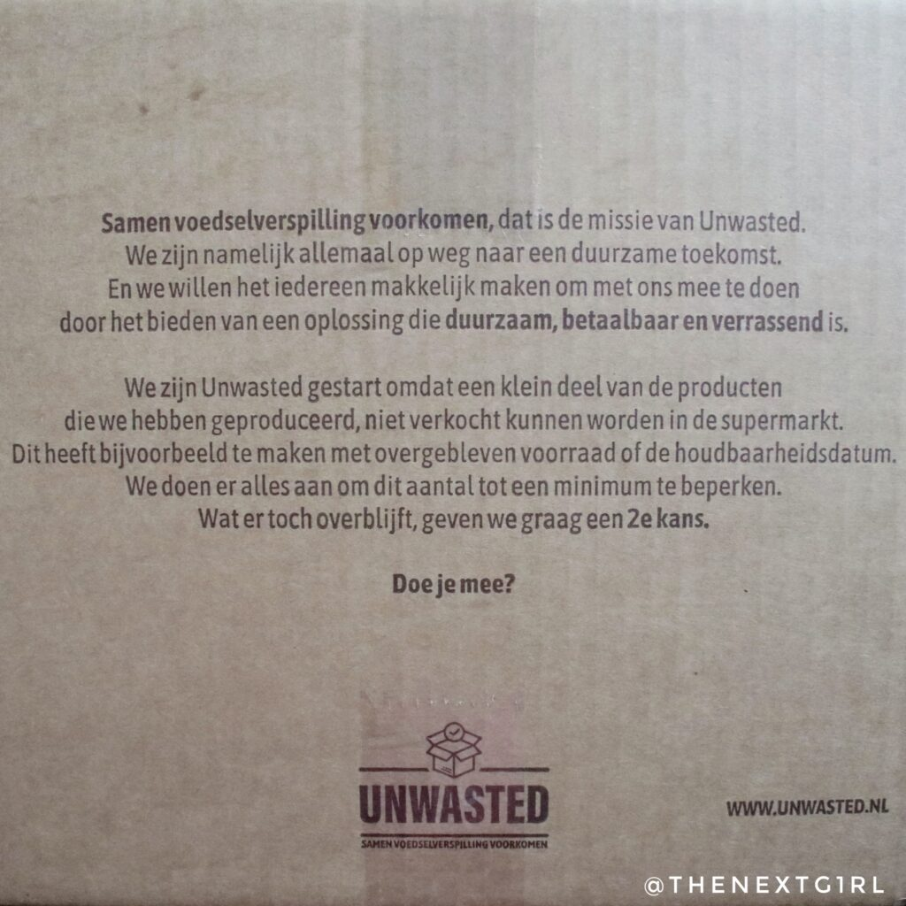 Mystery box unwasted