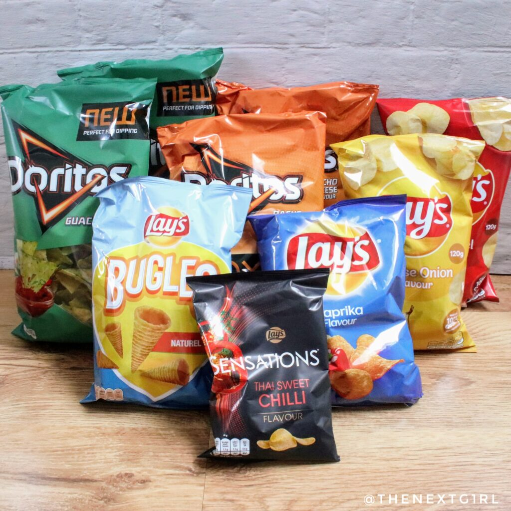 Inhoud PepsiCo snack box deel 1