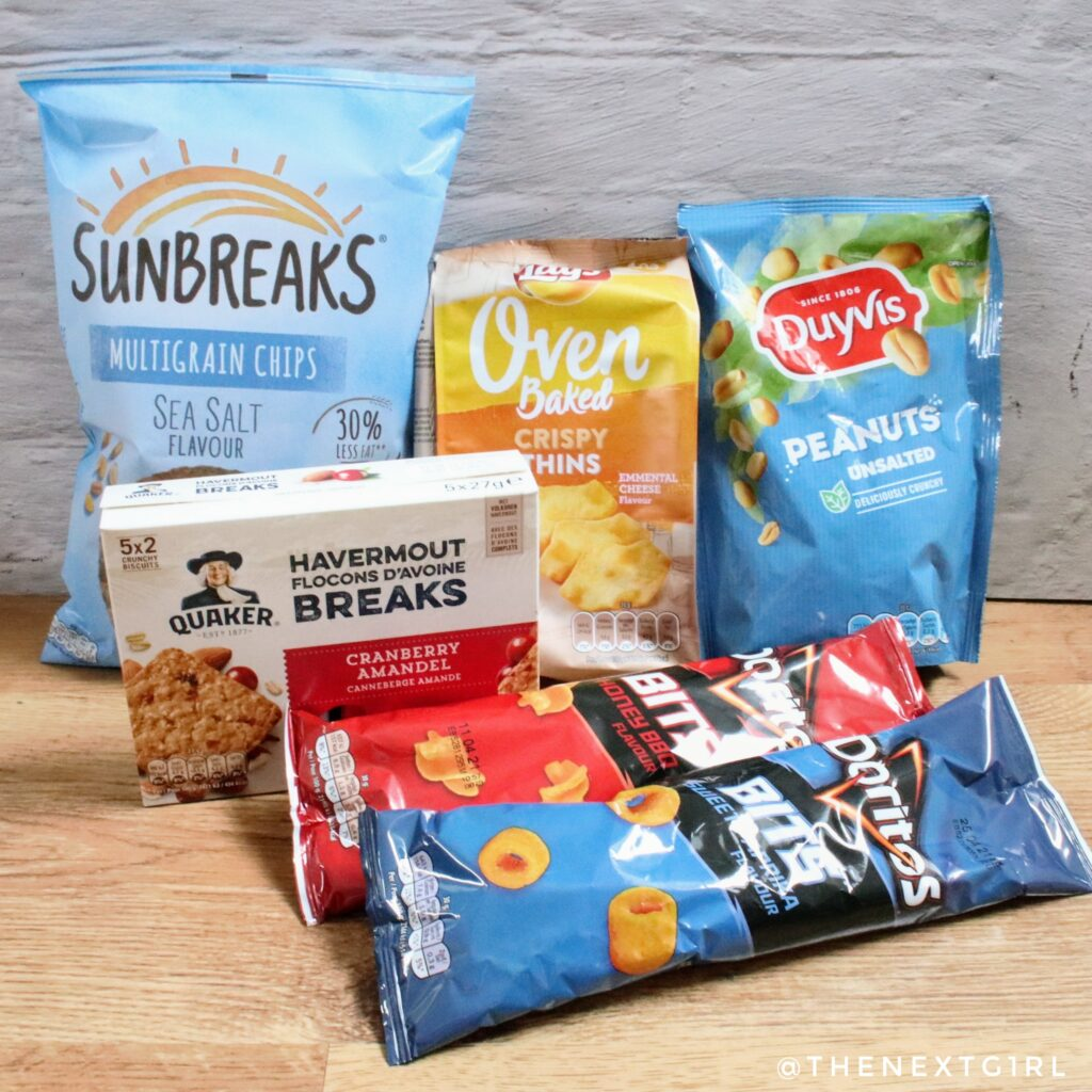 Inhoud PepsiCo snack box deel 2