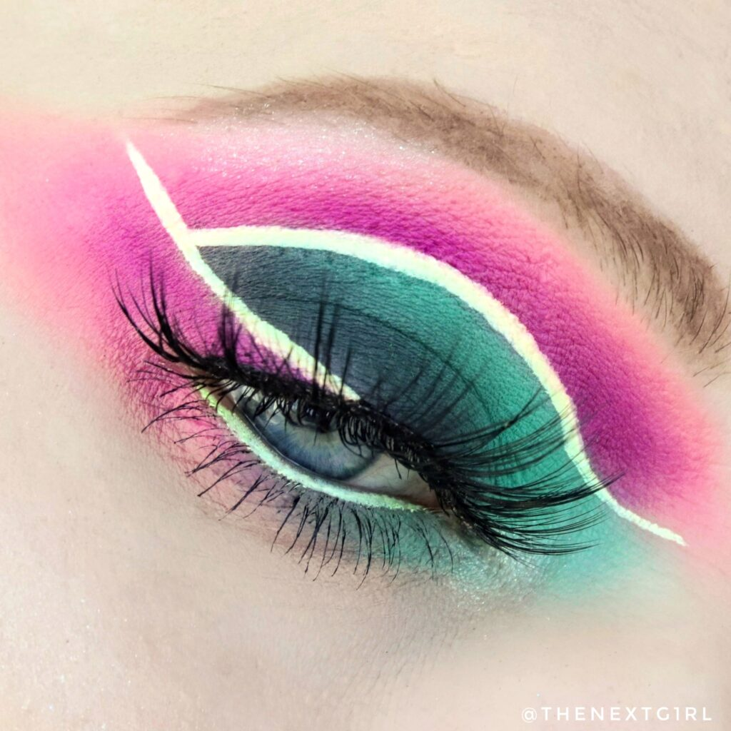 Creatieve ooglook Stacey Marie Mua palette