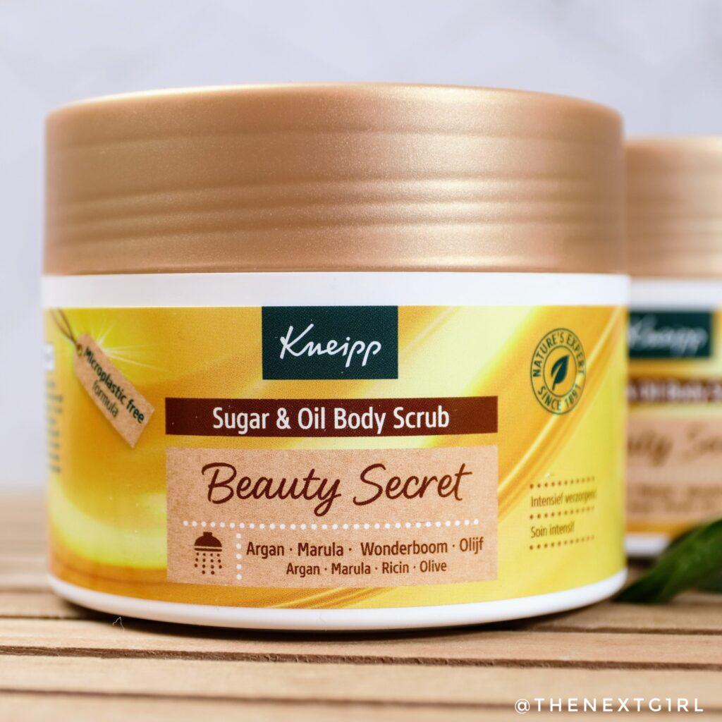 Kneipp bodyscrub beauty secret
