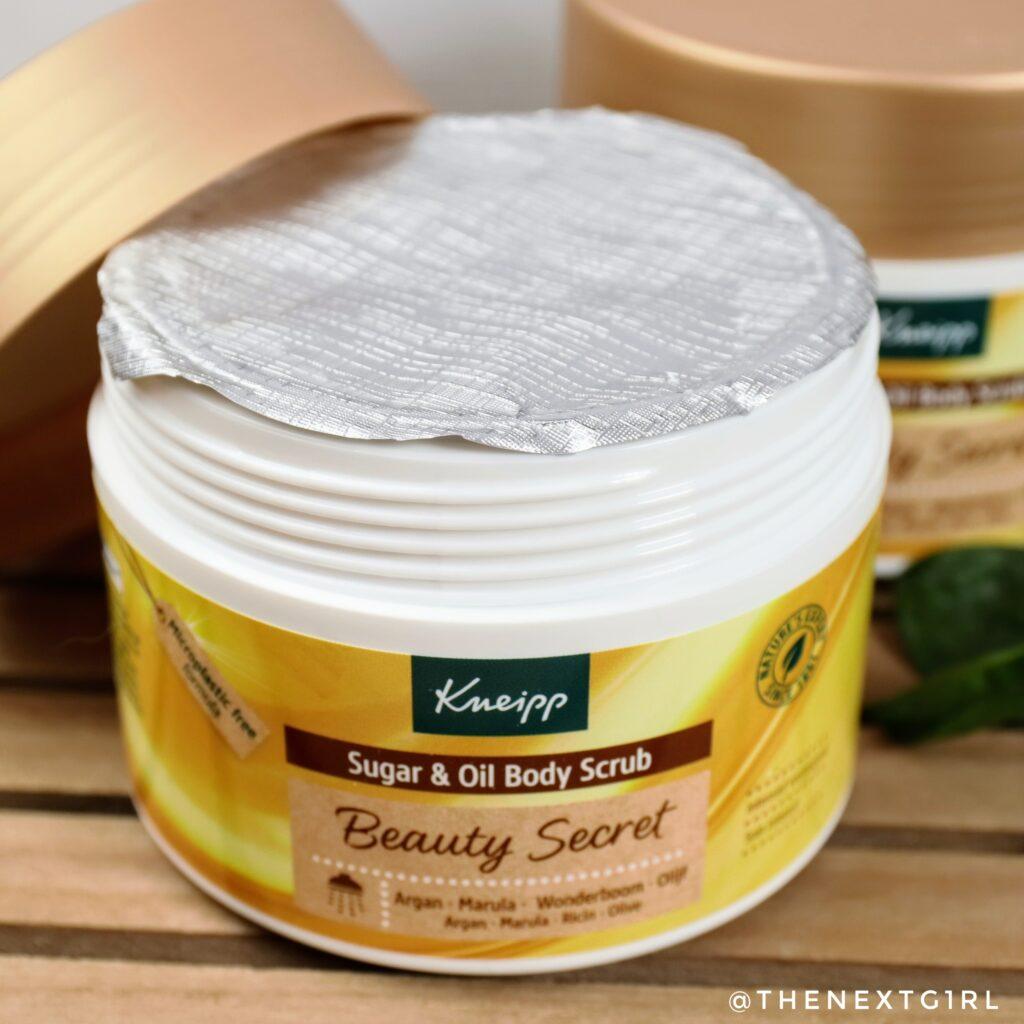Afsluiting verpakking sugar & oil bodyscrub