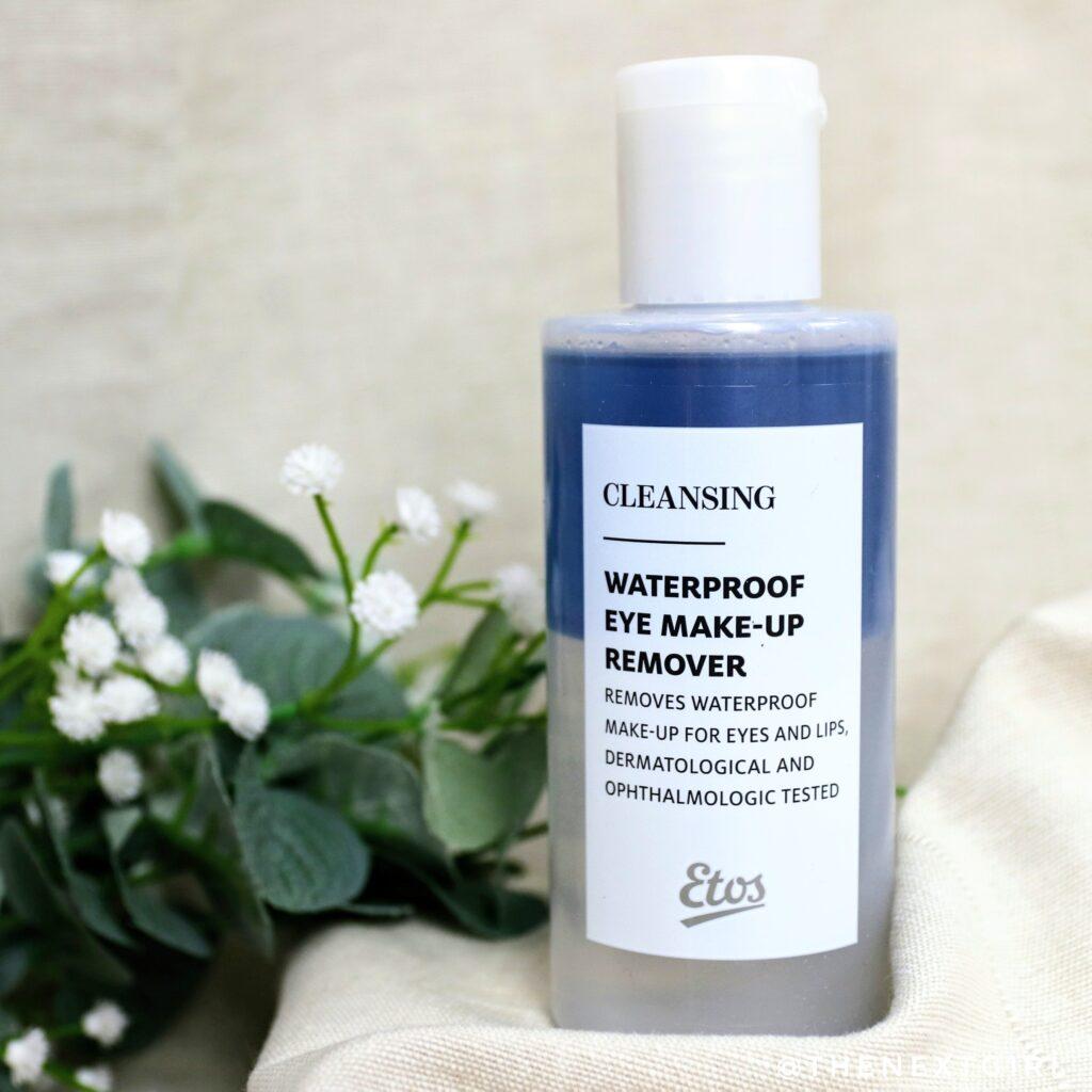 Etos waterproof make-up remover 2 delen