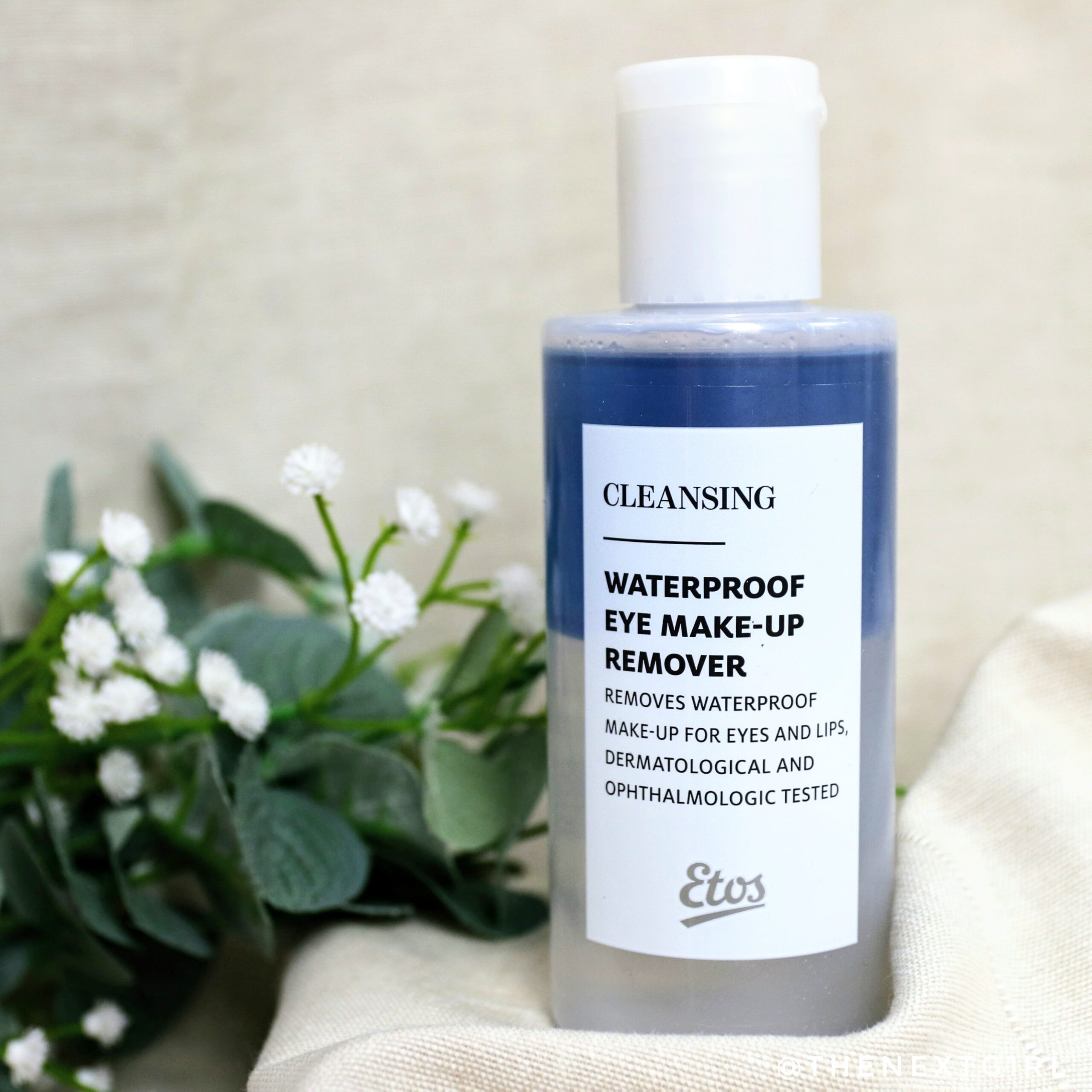 Review: Etos waterproof make-up remover