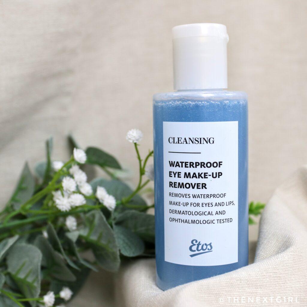 Etos waterproof make-up remover voor ogen en lippen