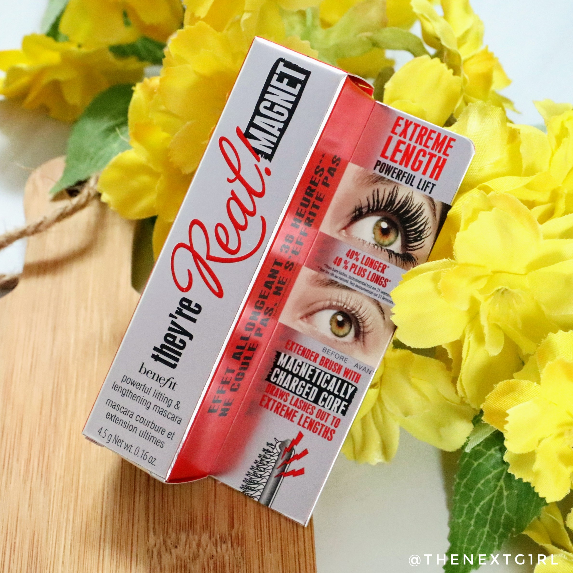 Review: Benefit They're Real Magnet mascara