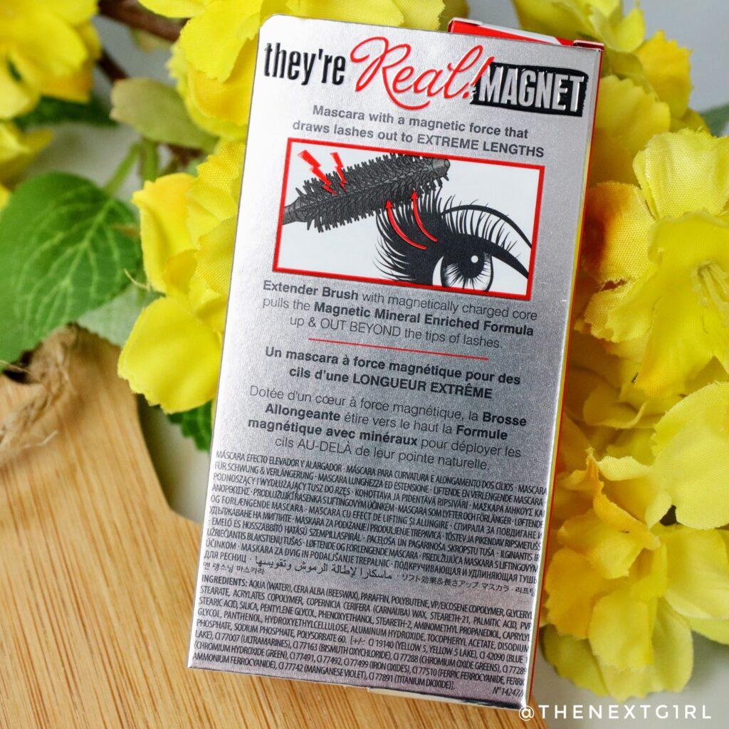 Nieuwe Benefit Cosmetics mascara verpakking