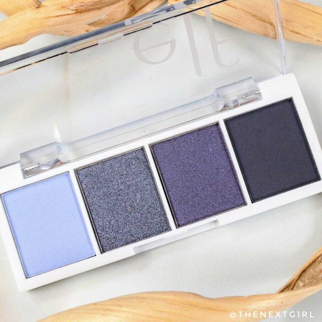Bite-size palette paars blauw