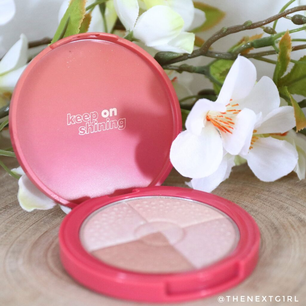 Verpakking Lottie highlighter quad