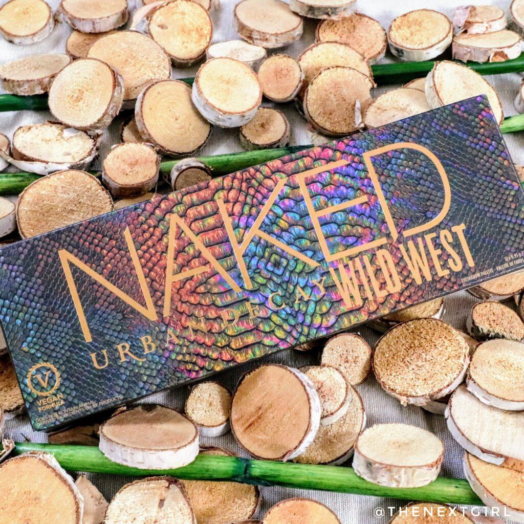 Urban Decay Naked Wild West eyeshadow palette box