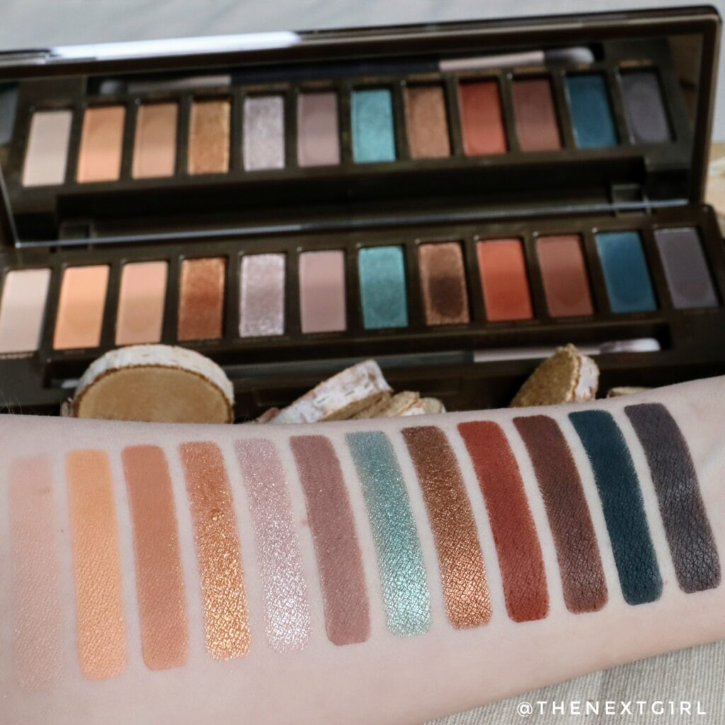 Swatches Urban Decay Naked Wild West palette