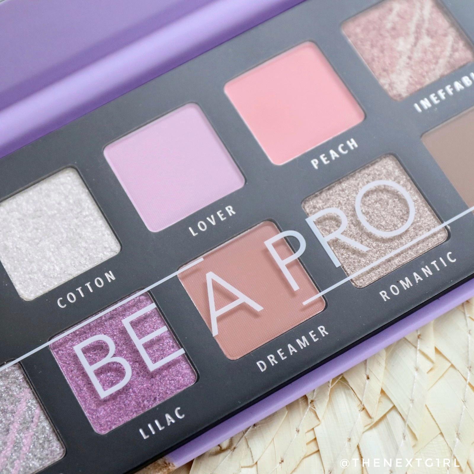 Review: Catrice PRO Lavender Breeze Slim eyeshadow palette