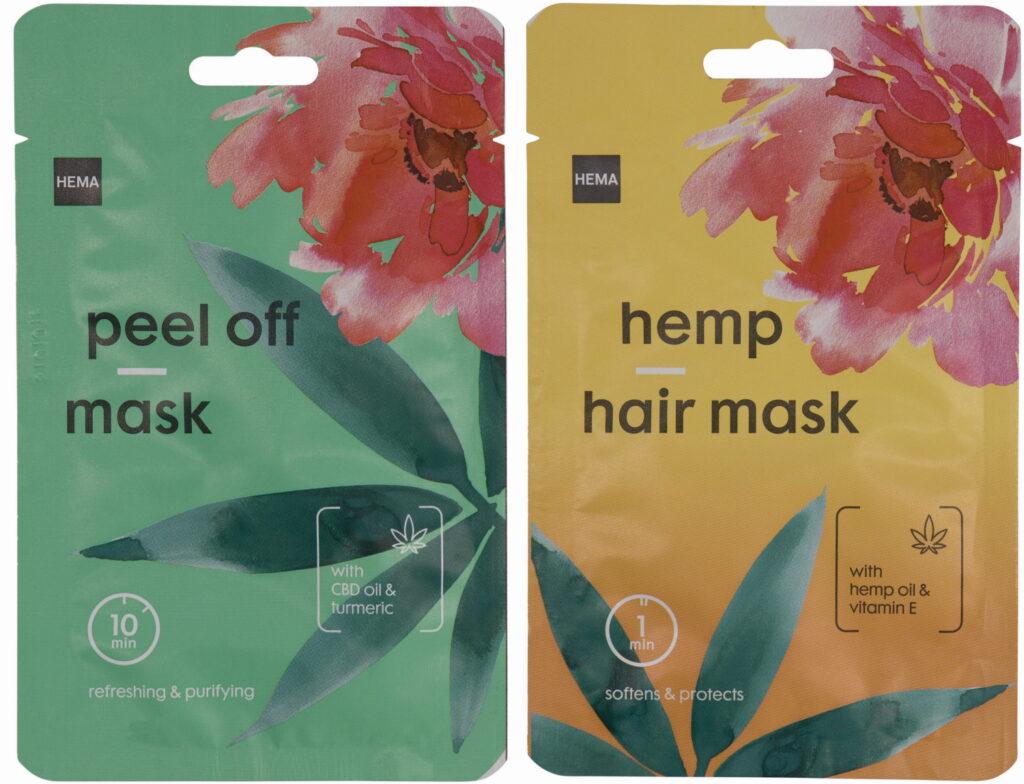 HEMA peel off gezichtsmasker haarmasker 2021