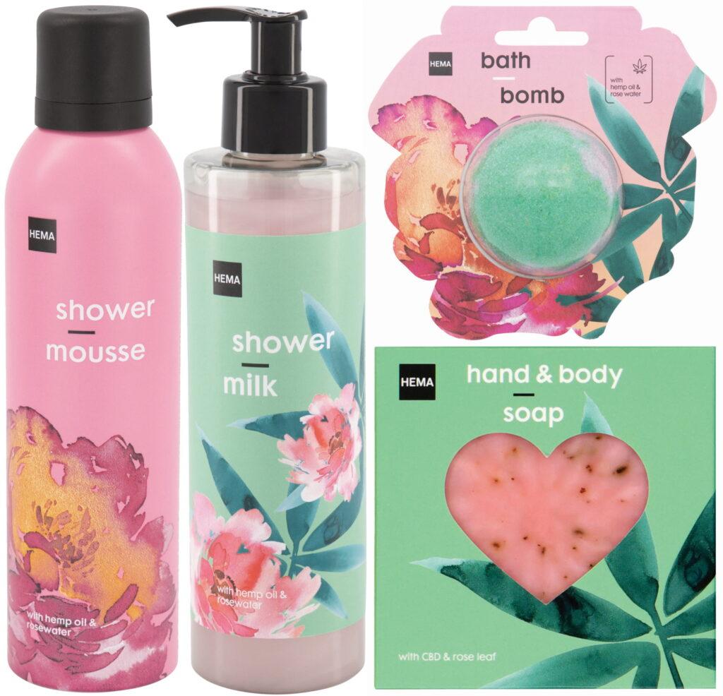 HEMA zomer lente bad douche producten