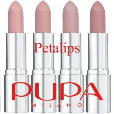 PUPA Petalips lipsticks maart 2021