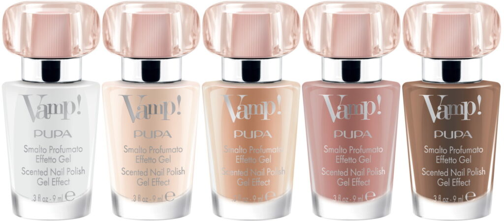 PUPA Vamp gel effect nagellak nude