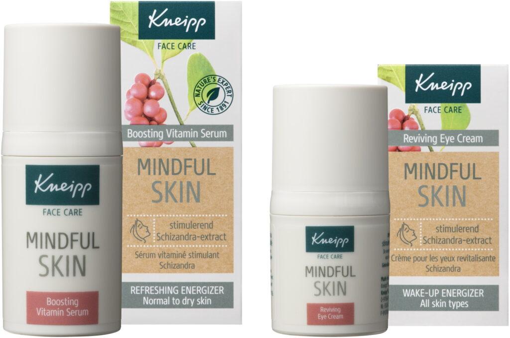 mindful skincare Boosting serum en oogcreme