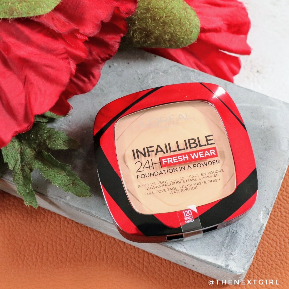 Review: L'Oreal Infaillible powder foundation