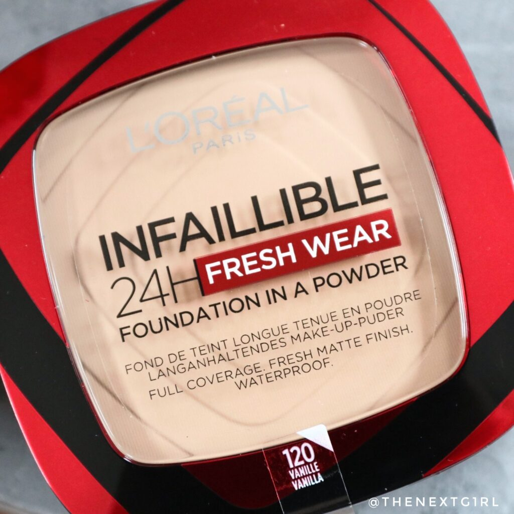 L'Oreal Infaillible 24H foundation powder Vanilla