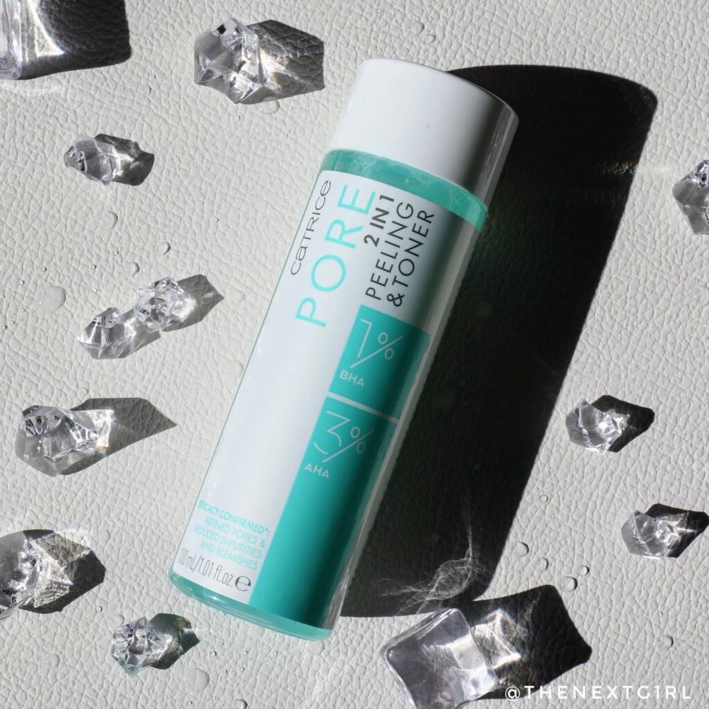 Catrice Pore 2 in 1 Peeling & toner