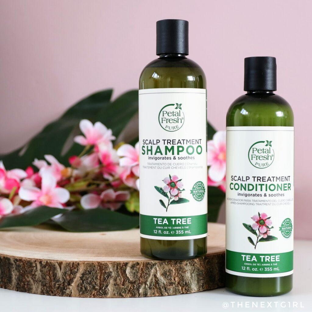 Petal Fresh Tea Tree shampoo en conditioner
