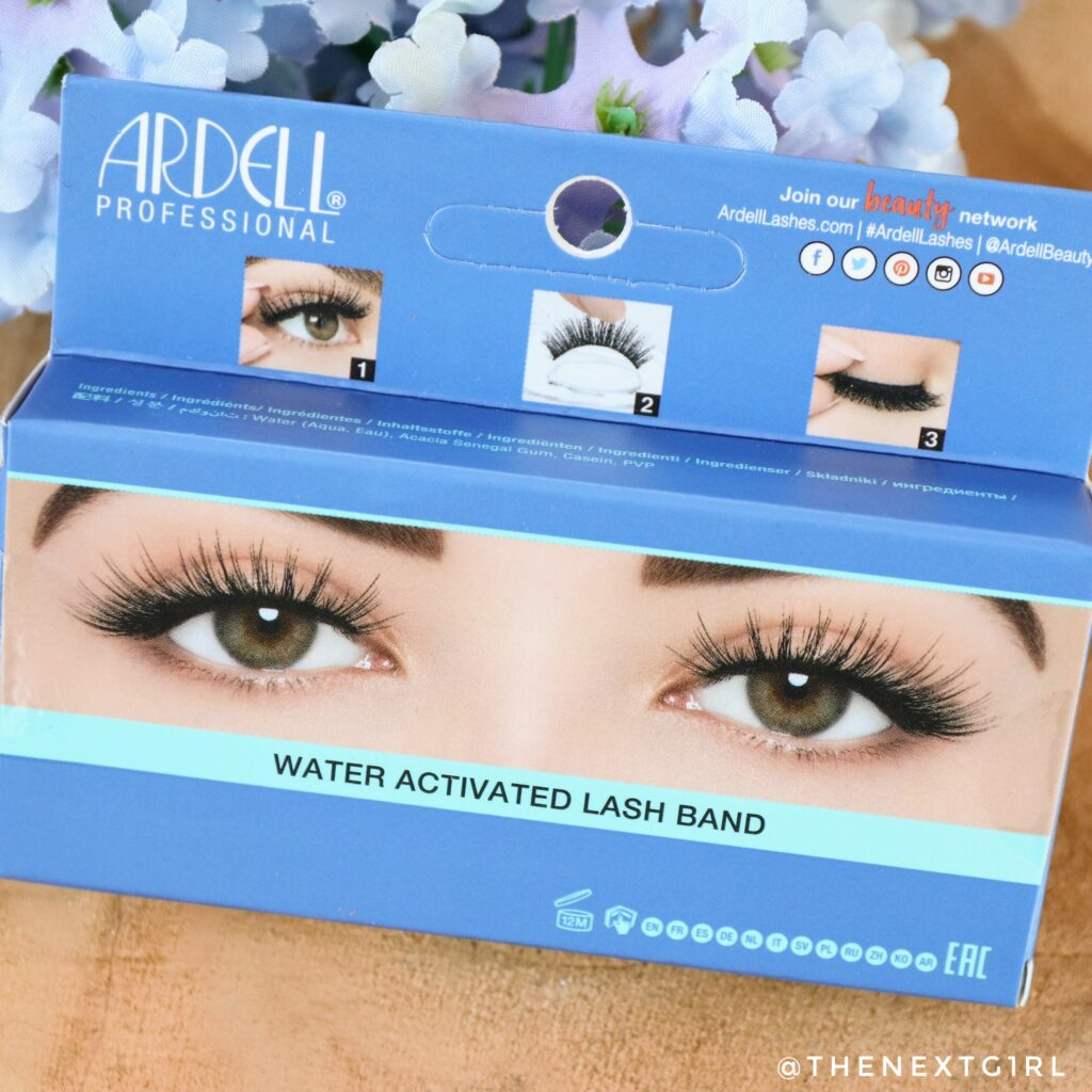 Ardell lashes water activated lash band